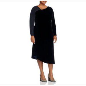 NWT Lafayette 148 New York Lourdes Velvet Dress 22